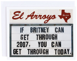If Britney can Card