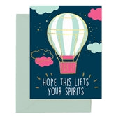 Lift Your Spirits Greeting Card