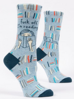 F off I'm reading crew socks
