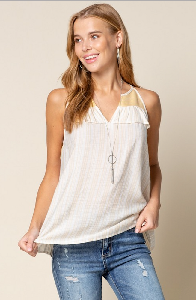 Sunlight Ruffle Top