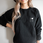 Black XOXO Sweatshirt