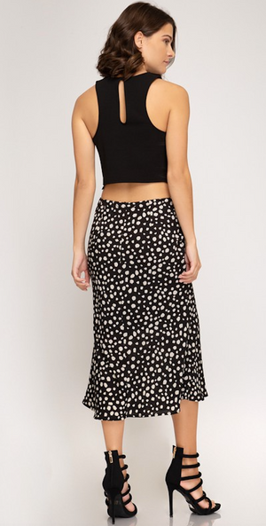 Mermaid Spot Skirt