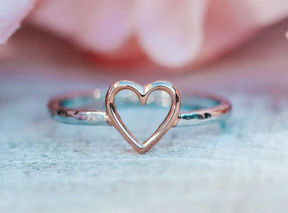 Open Heart Ring Pura Vida