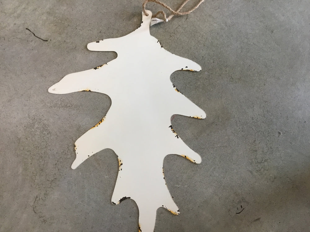 Metal Leaf Ornament 19.5""