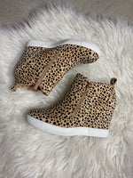Cheetah Wedge Sneaker