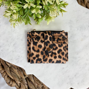 Mini Snap Card Holder Wallet