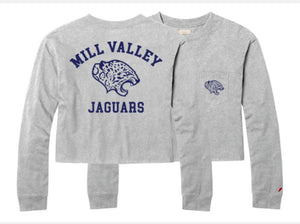 Mill Valley Long Sleeve Crop Top