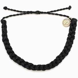 Pura Vida Braided Bracelet Black