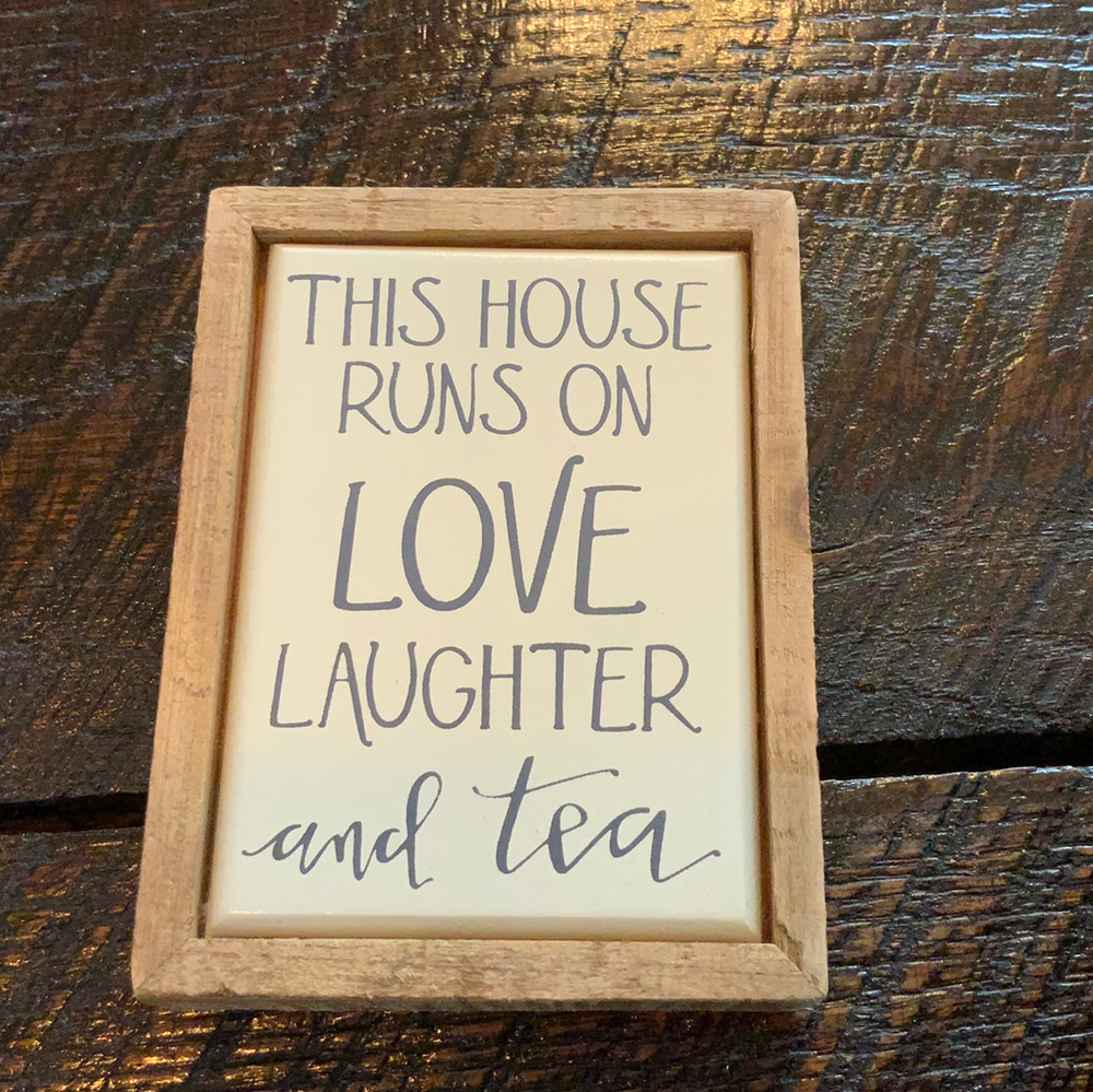 This house runs on love