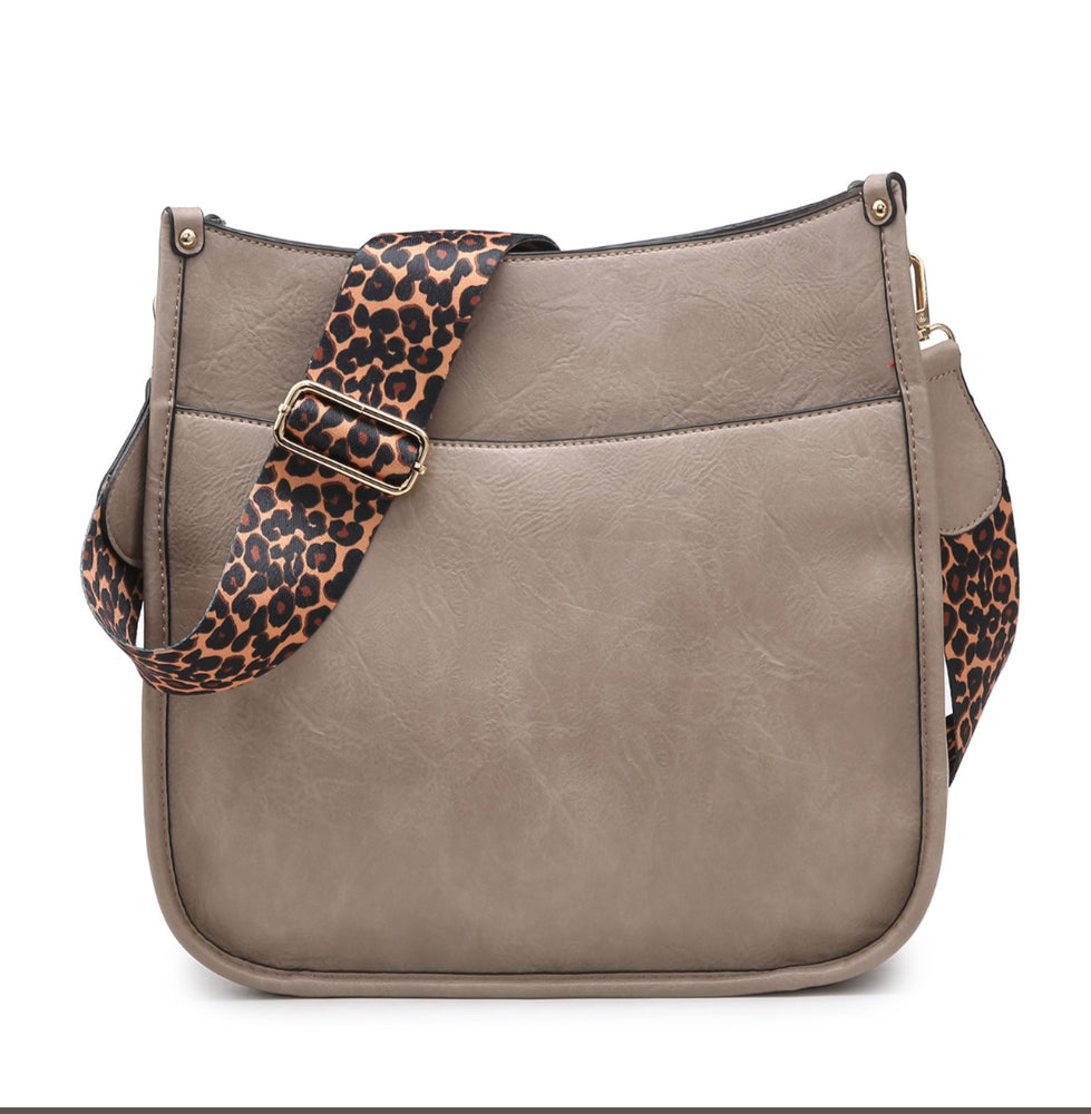 Chloe Crossbody - Warm Gray