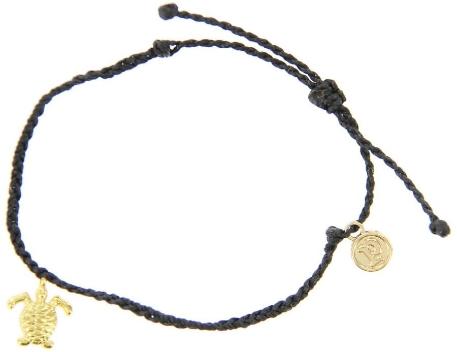 Pura Vida Gold Bitty Turtle Bracelet
