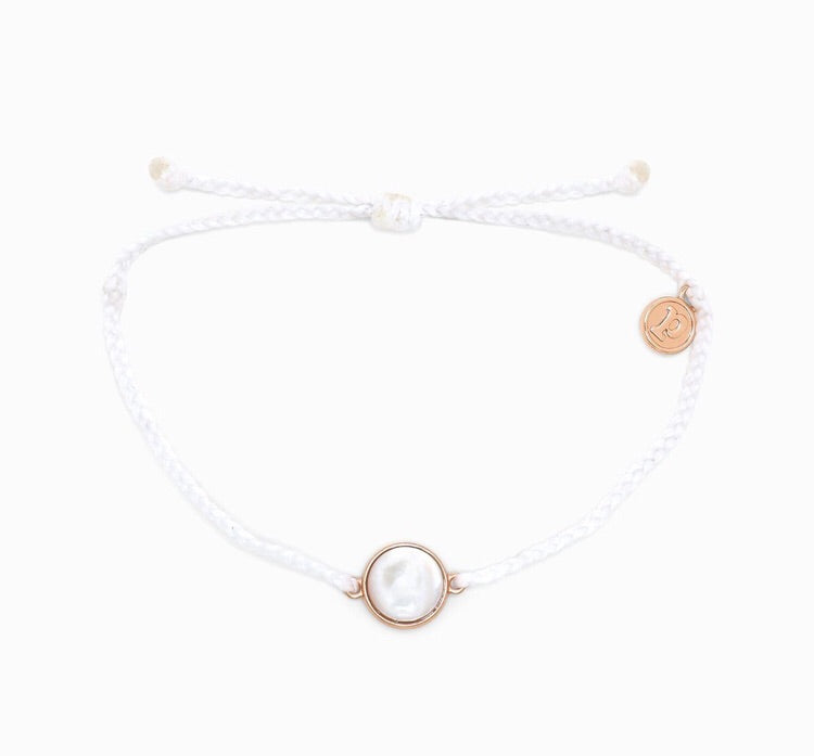 Mother of Pearl White Pura Vida Bracelet