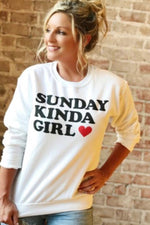 KC Sunday Kinda Girl Crew Sweatshirt