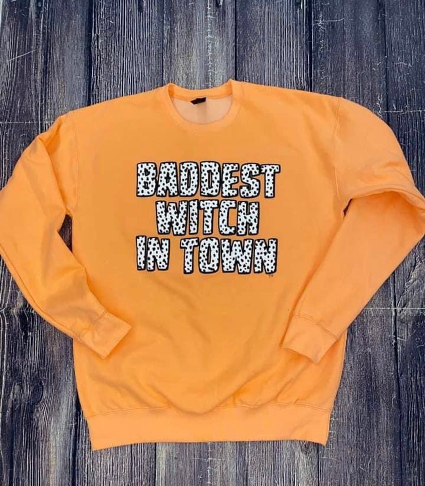 Baddest Witch Sweatshirt