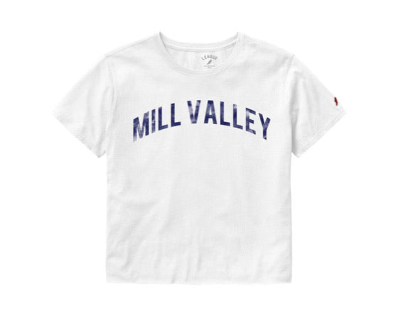 Mill Valley Short Sleeve Crop Top