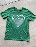 Wildcat Heart Triblend Tee