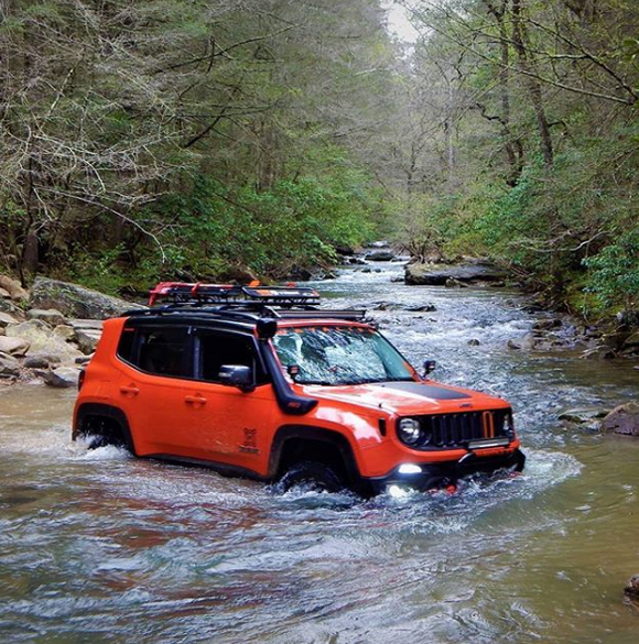 Water Crossing Off-Road Tips