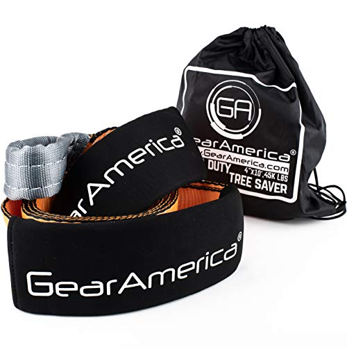 GearAmerica Mega Duty Tree Saver Winch Strap 4