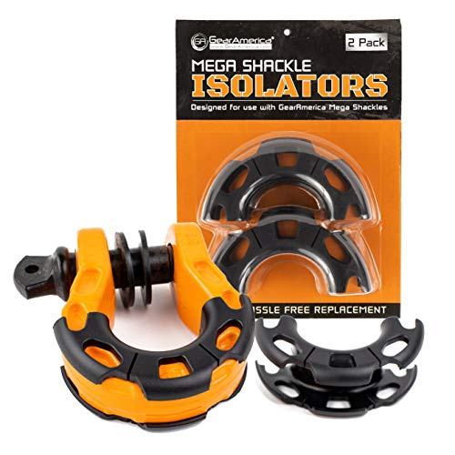 Mega Shackle Isolators (2PK) | Help Prevent Corrosion and Protect Your Finishes