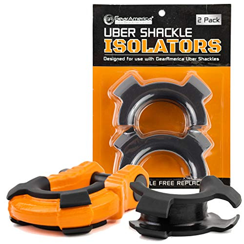 UBER SHACKLE ISOLATORS (2PK) | Fits Exclusively GA UBER Shackles
