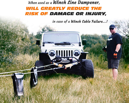 Off-Road Winching and Recovery Mega Kit - Be Prepared for any 4x4 Emergency
