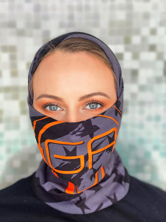GearAmerica Multi-Functional Outdoor Face Shield | Tube Mask, Neck Gaiter, Bandana, Headband