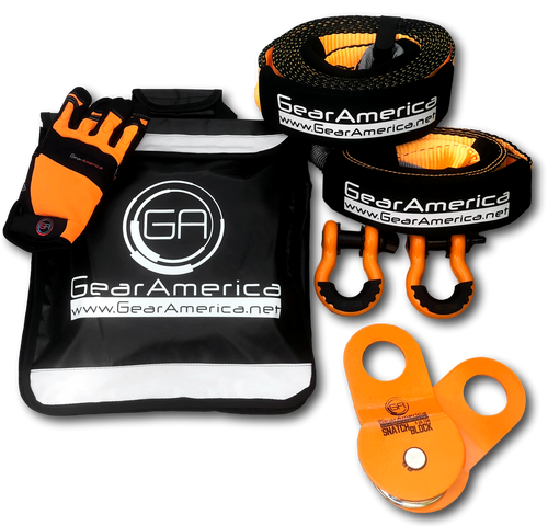 Ultimate 4x4 Winching & Rigging Off-Road Recovery Kit