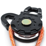 ULTRA Snatch Block Pulley | 20T MBC (Aluminum) | Best for Synthetic Winch Rope and Soft Shackles
