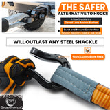 Ultra Shackle Hitch Receiver (100% Aluminum) with Anti Theft Locking System | 30,000 lb MBS