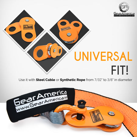 Ultimate Winching & Rigging Off-Road Recovery Kit (Orange D Rings) | Essential 4x4 Accessories