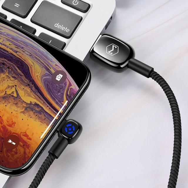 McDodo ergonomic USB-C 90 degree Auto Disconnect (2019) - Mcdodo Worldwide