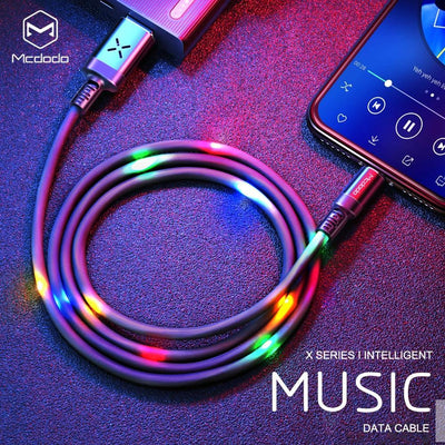McDodo Volume Controled Dancing LED Wire - Mcdodo Worldwide