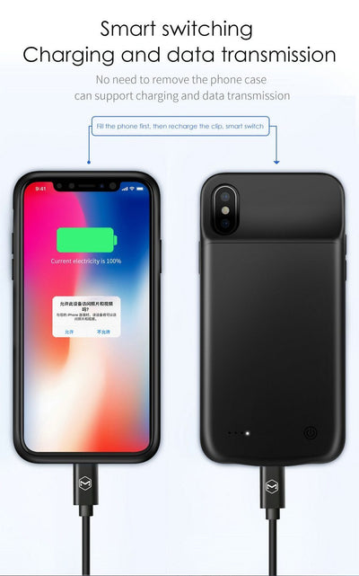 McDodo IPhone X & XS PowerCase - Mcdodo Worldwide