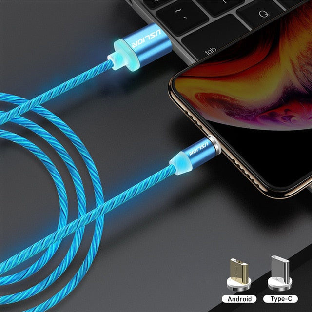 USLION Fast Charging Magnetic Cable
