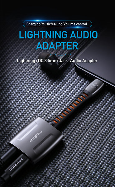 McDodo Aux Audio Adapter Lightning