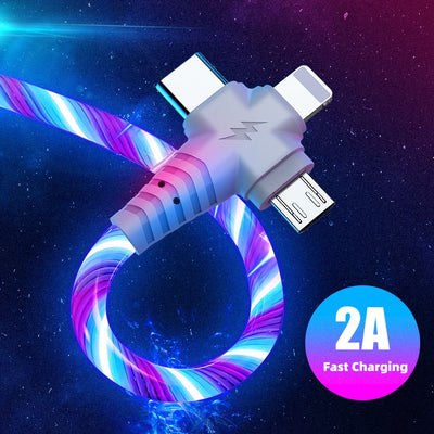 3in1 Flow Luminous USB Cable