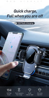 McDodo Car Phone Holder 15W QI Wireless charger