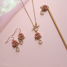 Peony & Lily of the Valley Necklace