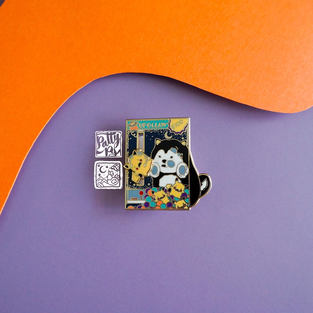 The Claw Enamel Pin