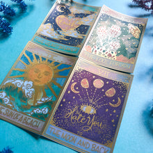 Tarot Cards Sticker Set