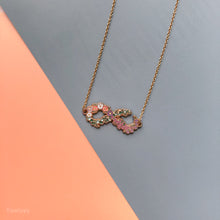 Infinity Blooms Necklace