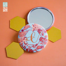 Chinoiserie-Pocket Mirror