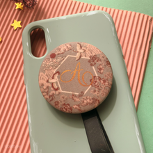 Chinoiserie-Mirror Phone Grip
