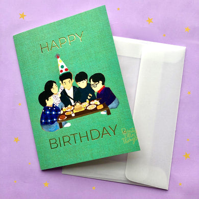 Ssangmundong Squad Birthday Card