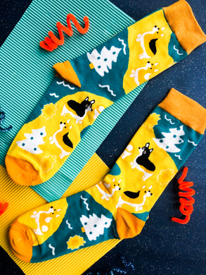 Corgi Trail Socks