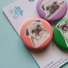 Pugs Button Pin Set