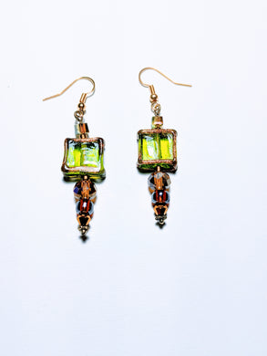 MH Green Goddess earring