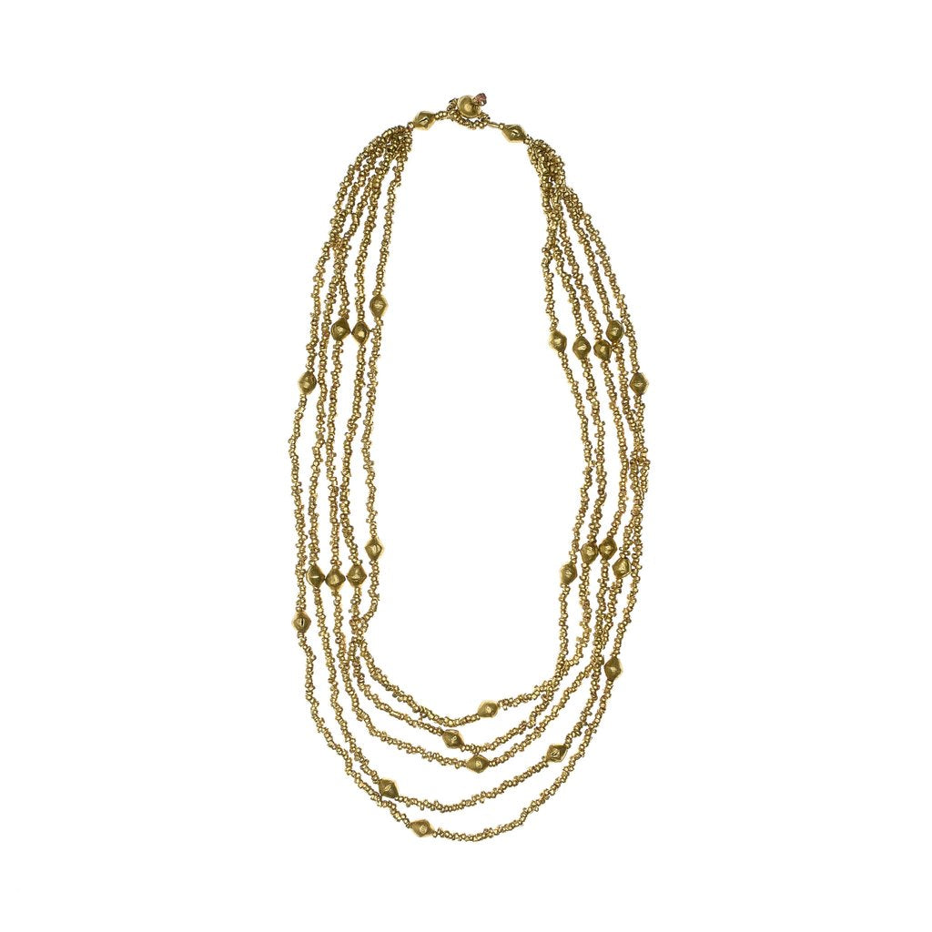 Tiyint Brass Necklace
