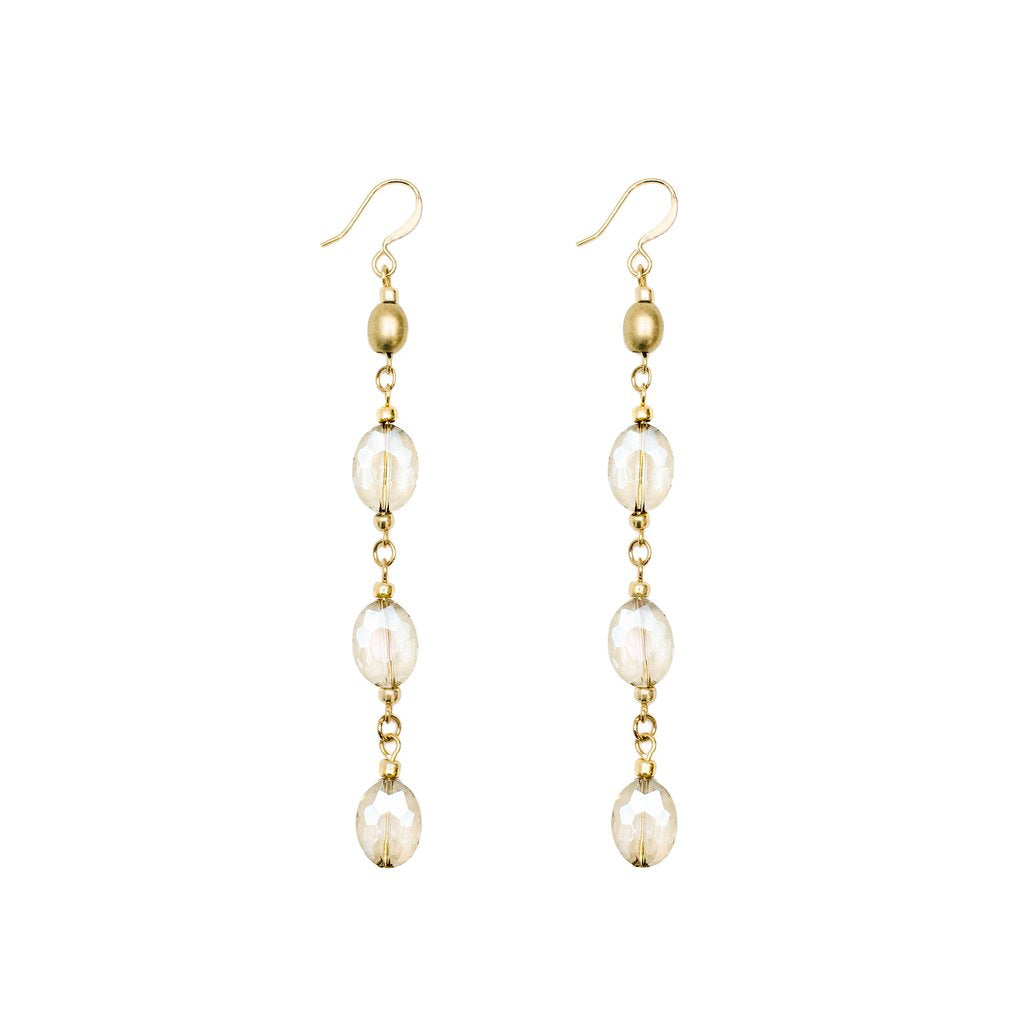Tonya Crystal Earrings