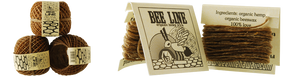 Bee Line | 100% Natural Organic Hemp Wick for Herb